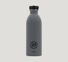 24 Bottles Urban stainless steel. Grey.