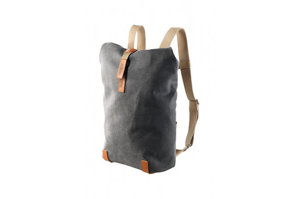 Brooks Pickwick Roll Top Rucksack Grey (Small)