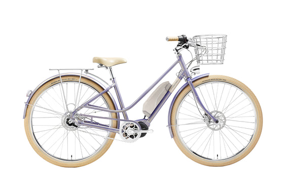 Creme Eve e7 ebike purple
