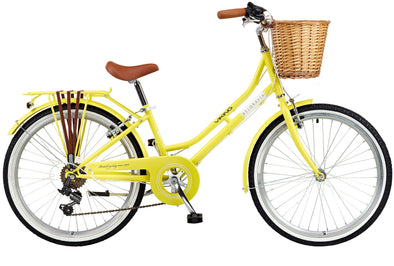 Viking Belgravia Girls Bike. Yellow.