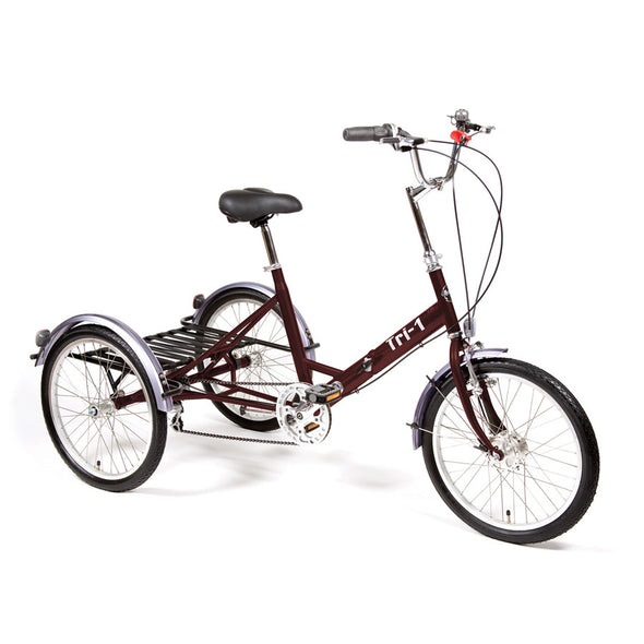 Pashley tricycle tri 1 folding claret