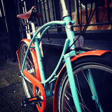 Orange and Blue Tuberider Pintail by Pashley