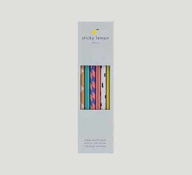 Sticky Lemon Pencils