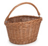The pilgrim wicker bike basket
