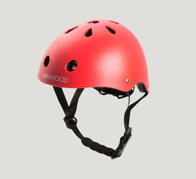 Banwood kids bike helmet red