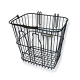 Basil Milk Bottle Basket Black