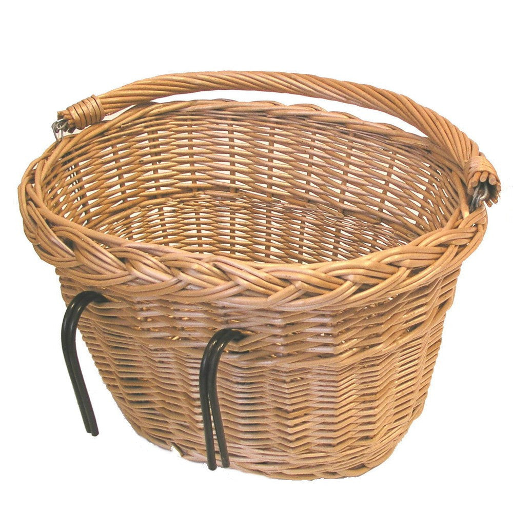 Hook on wicker basket