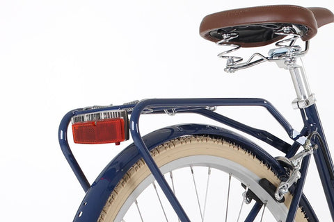 Bobbin bicycles rear red light pannier mounted