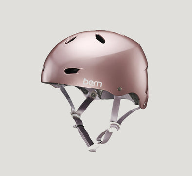 Bern Macon Pink Bike Helmet