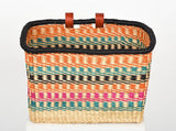 Ashanti Ghanaian bike basket - The Basket Room