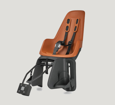 bobike one maxi rear child bike seat rust