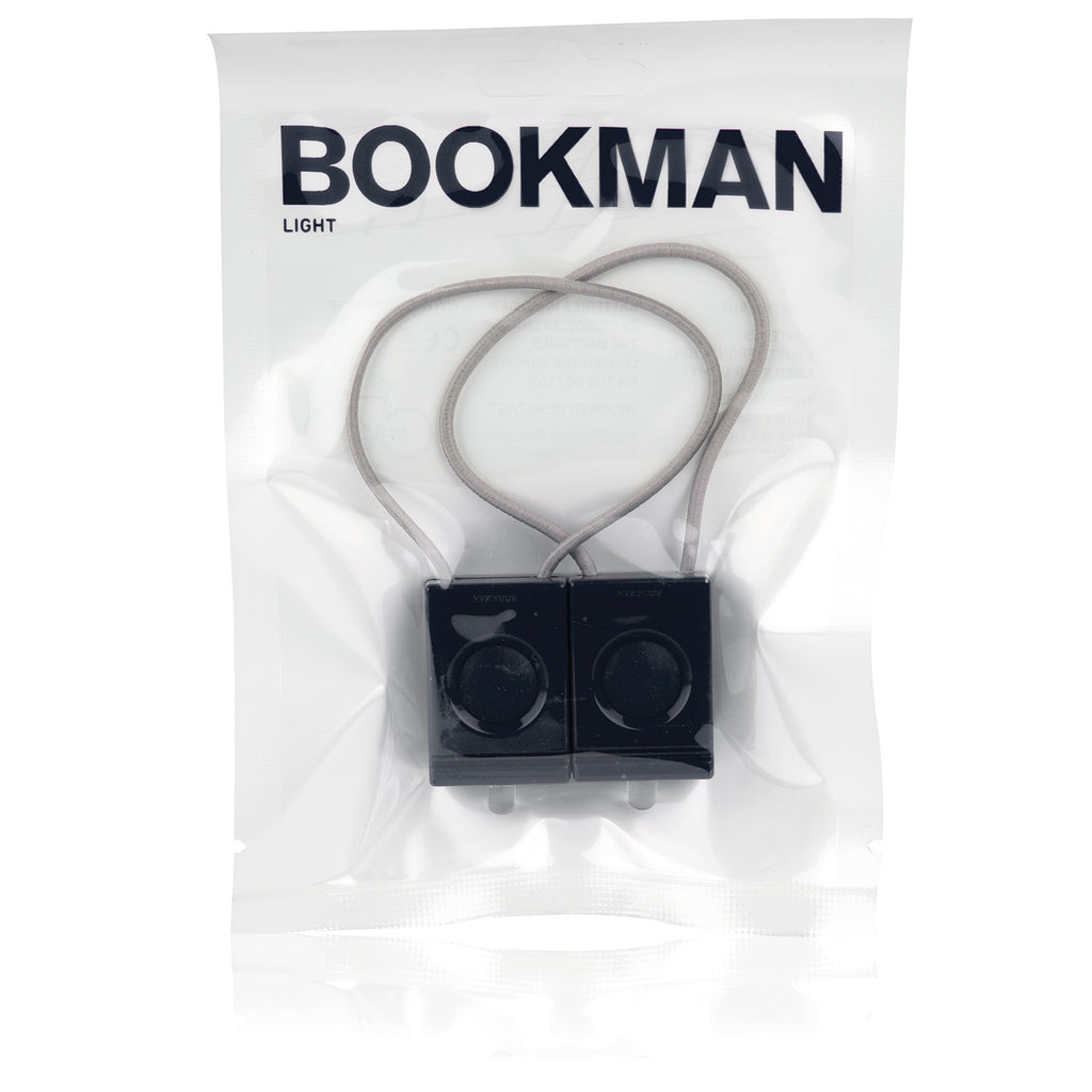 Bookman bike light set black