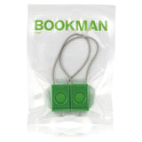 Bookman bike light set green