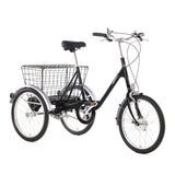 Pashley cycles picador tricycle black
