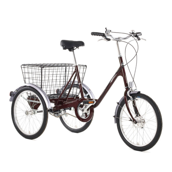 Pashley cycles picador tricycle claret