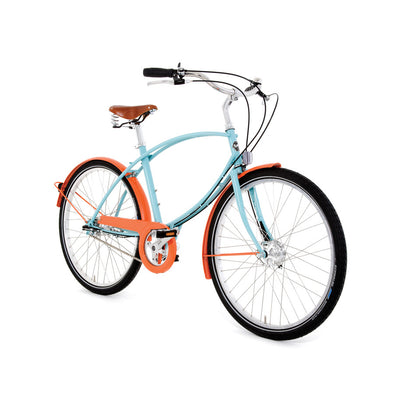 Pashley Tuberider Turquoise and Orange