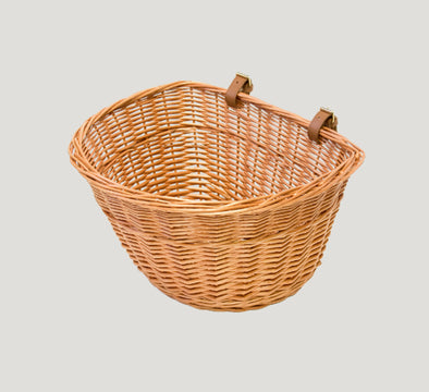 pashley wicker bike basket