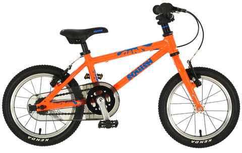 "Squish 14"" lightweight kids bike for 3 year old"