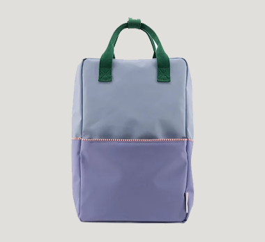 Sticky Lemon Large Colour Block Backpack