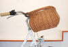 The Sherpa - Bell's wicker bike basket range.