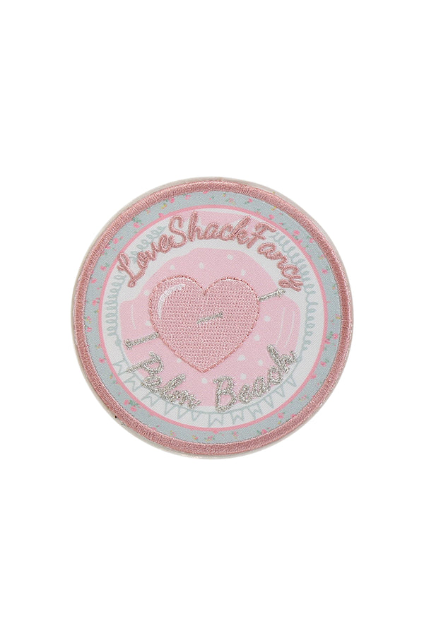 LSF x Stoney Clover Palm Beach Heart Patch