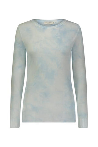 Tie Dye Slouchy Crew Neck Top