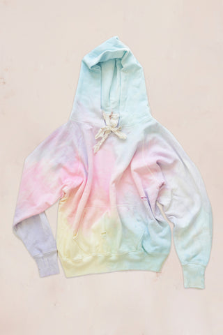 LoveShackFancy x Camp Isidro Addison Tie Dye Hoodie