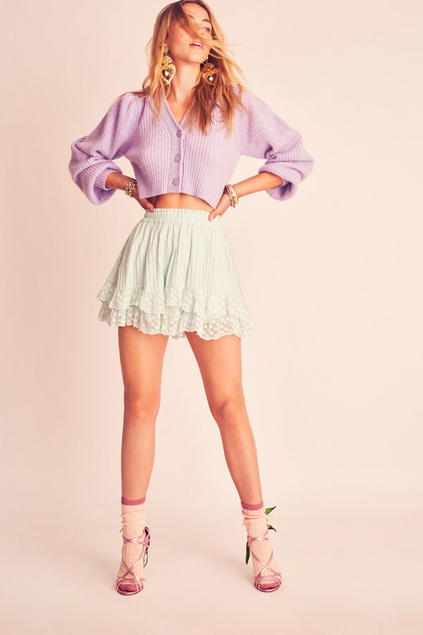 Toya Ruffle Mini Skirt