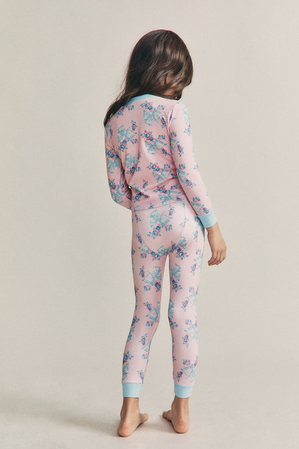 LoveShackFancy x Morgan Lane Girls Lulu Pj Set
