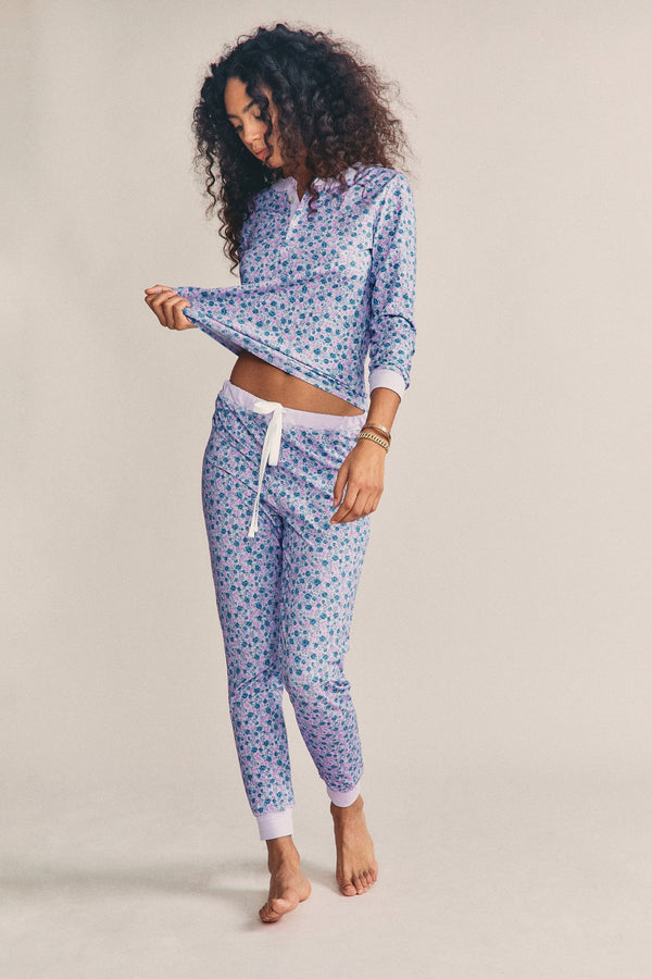 LoveShackFancy x Morgan Lane Kaia Pj Set