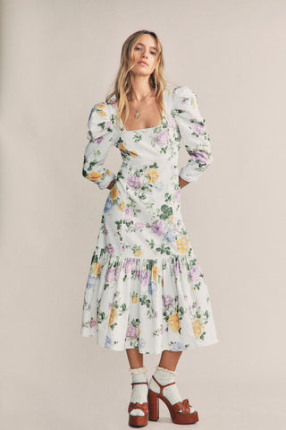 Ellington Midi Corduroy Dress