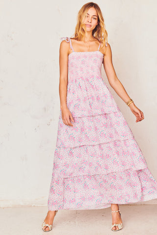 Caressa Tiered Maxi Dress