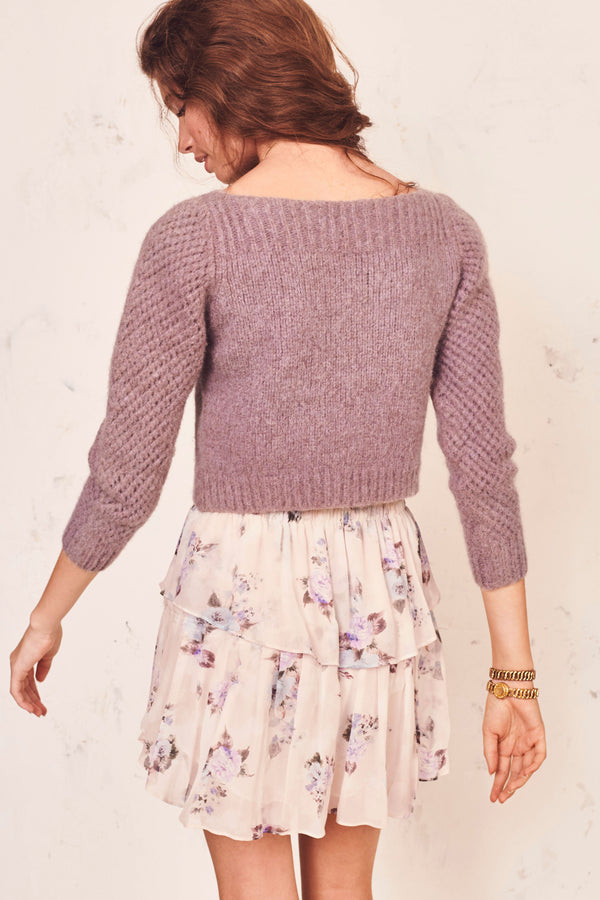 Ezra Cropped Pullover