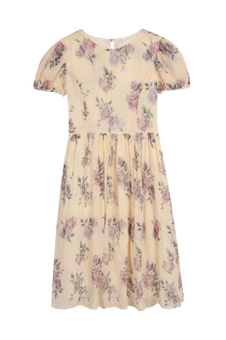 Girls Holly Silk Dress