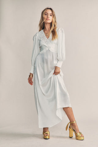 Gwyneth Silk Dress