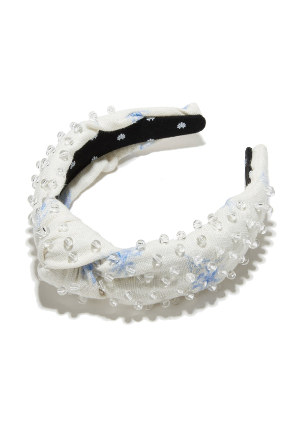 LoveShackFancy x Lele Sadoughi Beaded Headband