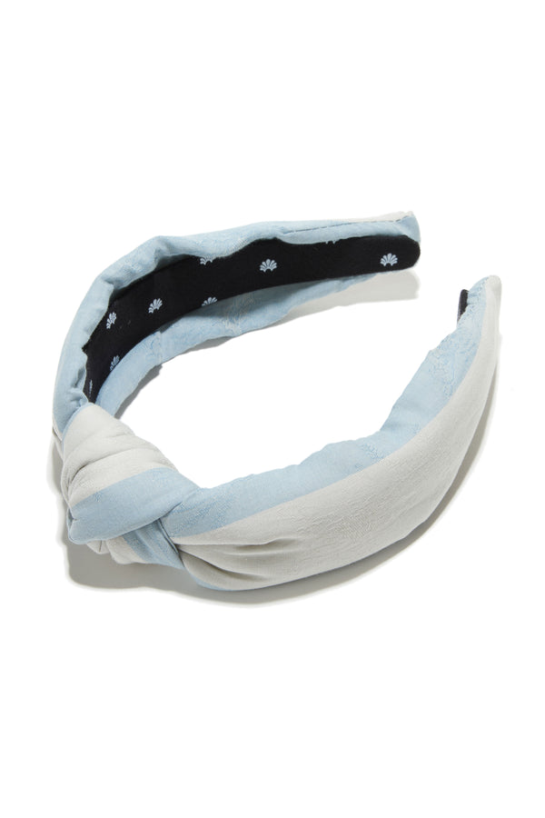 LoveShackFancy X Lele Sadoughi Knotted Headband