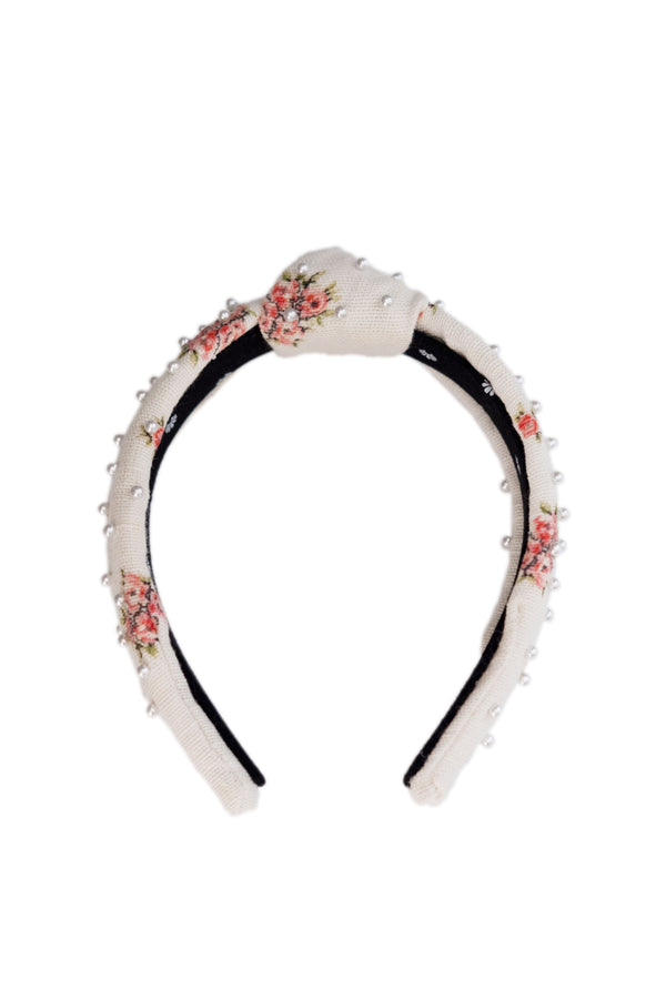 LoveShackFancy x Lele Sadoughi Petite Beaded Headband