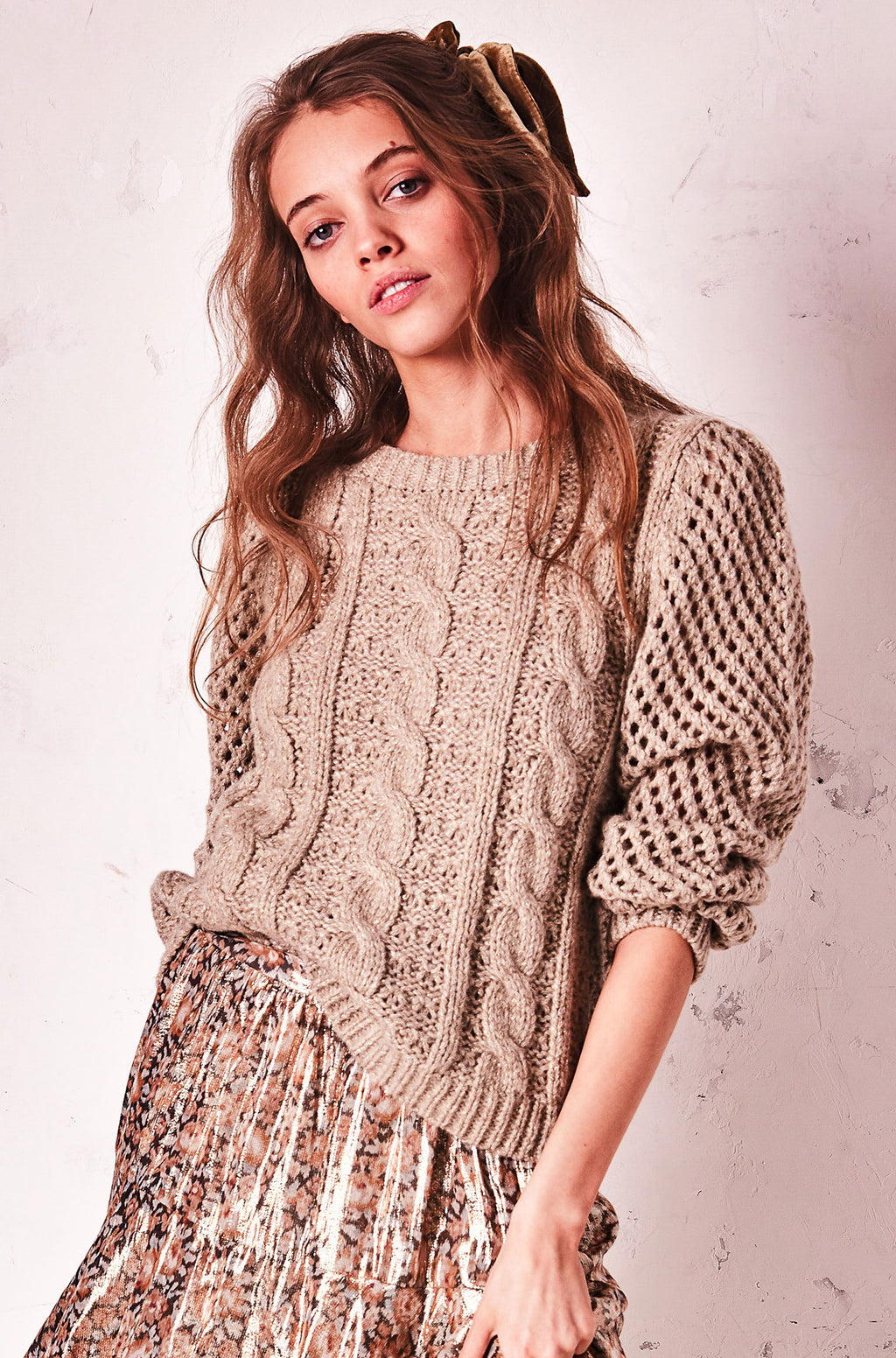 Cabled Rosie Sweater