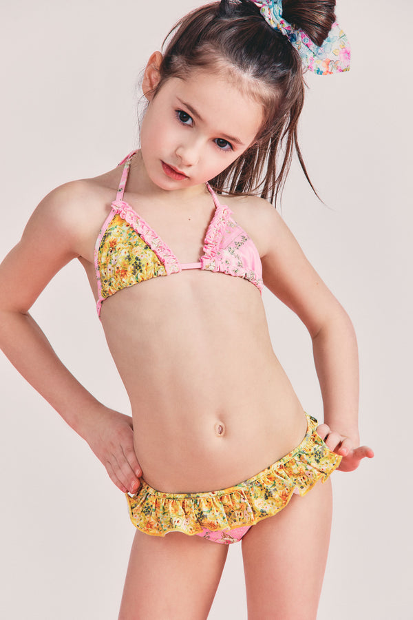 Girls Mini Harbor Bikini Set