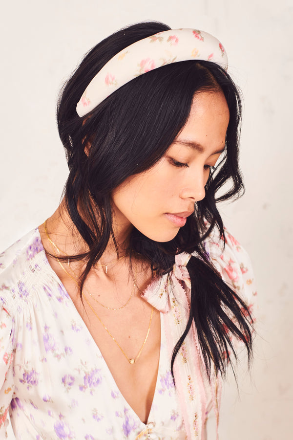 LoveShackFancy x Lele Sadoughi Padded Headband