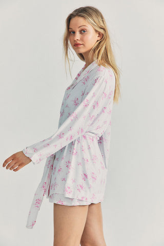 LSF x Stripe & Stare Short Robe