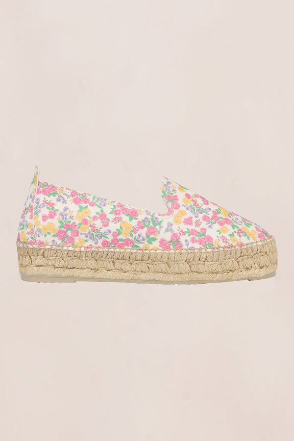 LoveShackFancy x Manebi Slipper Platform Espadrille