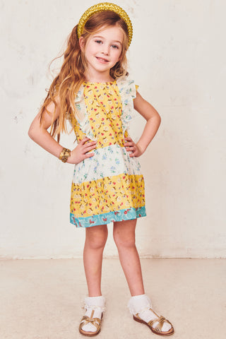 Girls Sylvie Flutter Dress