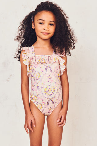 Girls Nettle Swimsuit