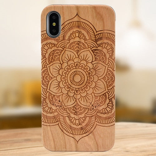 Bamboo engraved phone cases - Gifteen