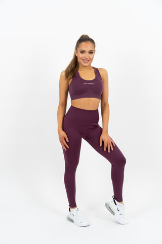Icon Seamless Top - Purple - Gymsupply