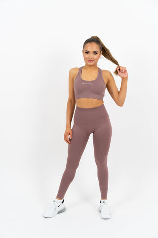 Icon Seamless Leggings - Taupe - Gymsupply
