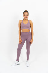 Icon Seamless Top - Lilac - Gymsupply