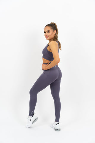 Icon Seamless Leggings - Grey - Gymsupply